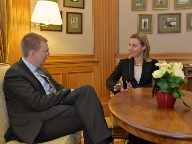 Visit of Federica Mogherini, Vice-President of the EC, to Latvia