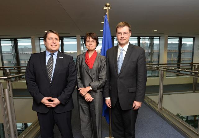 Visit of the social partners to the EC