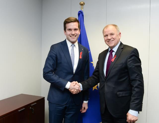 Visit of Gabriel Wikström, Swedish Minister for Health Care, Public Health and Sport, to the EC