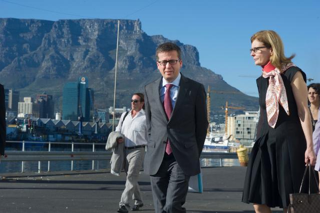 Visit of Carlos Moedas, Member of the EC, to South Africa