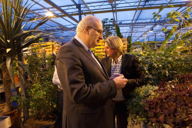 Visit of Phil Hogan, Member of the EC, to the Netherlands