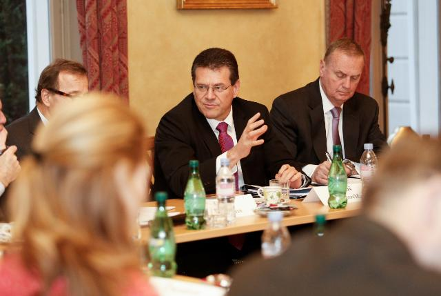 Participation of Maroš Šefčovič, Vice-President of the EC, in a meeting of the Transatlantic High Level Group on Energy