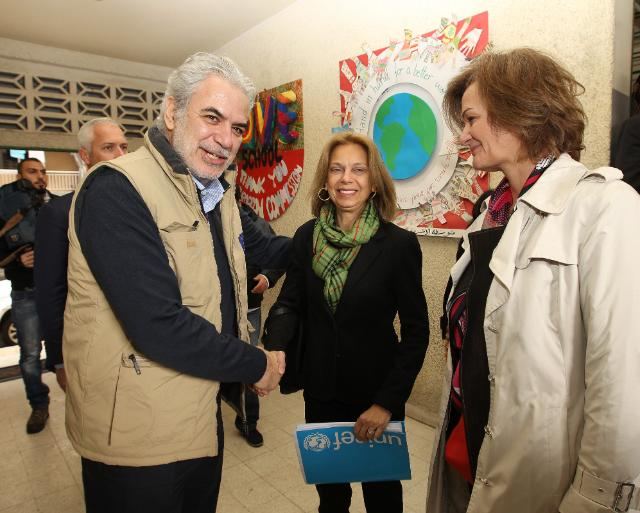 Visit by Christos Stylianides to Lebanon