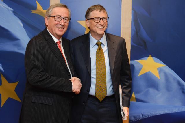 Visite de Bill Gates, co-président de la Fondation Bill & Melinda Gates, à la CE