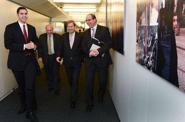 Visit of Ian Borg, Maltese Parliamentary Secretary for the EU Presidency 2017 and EU Funds, to the EC