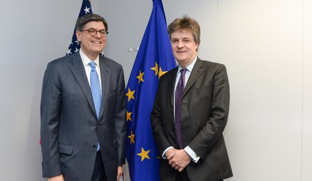 Visit of Jack Lew, US Secretary of the Treasury, to the EC