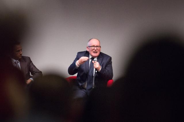 Visit of Frans Timmermans, First Vice-President of the EC, to France