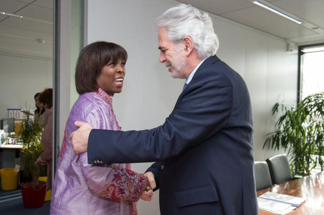 Visit of Ertharin Cousin, Executive Director of the WFP, to the EC