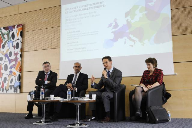 Visit of Jyrki Katainen, Vice-President of the EC, to Marseille