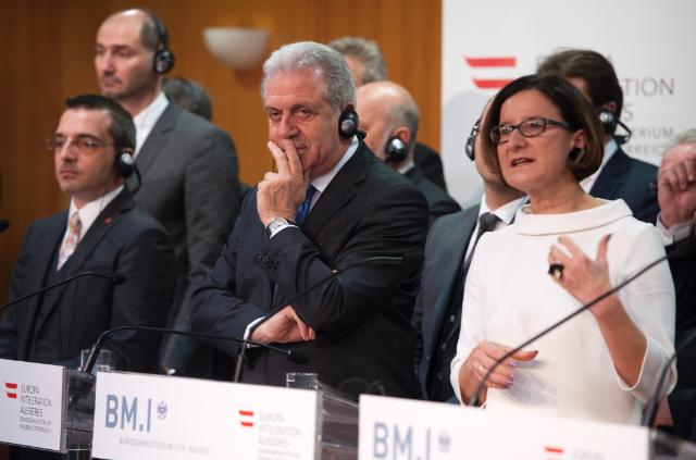 Participation of Dimitris Avramopoulos at the 'Tackling Jihadism TOGETHER' conference in Vienna