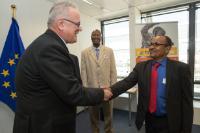 Visite d'une délégation de la Cedeao et l'UEMOA à la CE