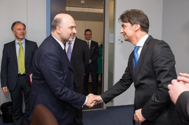 Visit of Branko Grčić, Croatian Deputy Prime Minister and Minister for Regional Development and EU Funds, and Boris Lalovac, Croatian Minister for Finance, to the EC