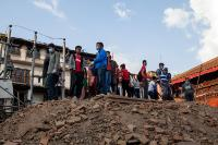 Nepal after the devastating earthquake that hit the country on 25 April 2015