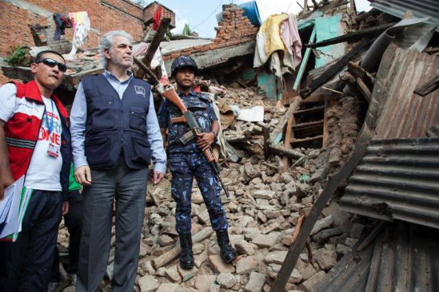 Visit of Christos Stylianides, Member of the EC, to Nepal