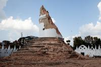 The rubble of the historic Dharahara tower in Kathmandu. More than 60 people have died in that tower during the earthquake of 25 April.
