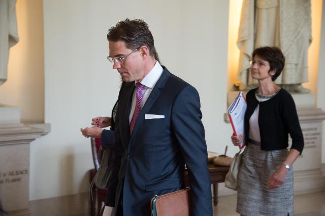 Visite de Jyrki Katainen, vice-président de la CE, et Marianne Thyssen, membre de la CE, en Belgique