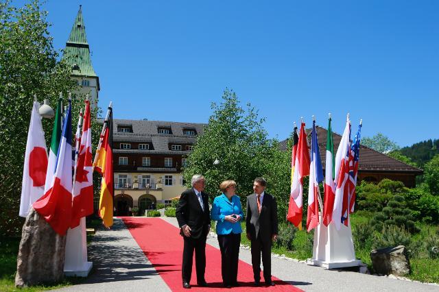 G7 Summit in Krün