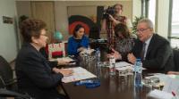 Visit of Victoria Velásquez de Avilés, Secretary General of SICA, to the EC