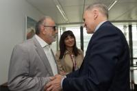 Visite de Panagiotis Kouroublis, ministre grec de la Santé et de la Sécurité sociale, à la CE