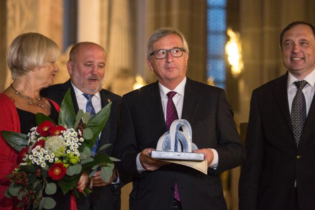 Participation of Jean-Claude Juncker at the Brückepreis Award ceremony