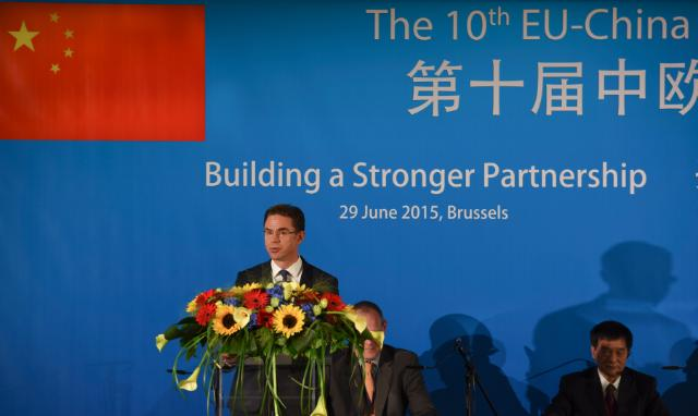 10e Sommet commercial UE-Chine : 'Building a Stronger Partnership'
