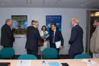 Visit of Presidents of the European Academies to the EC