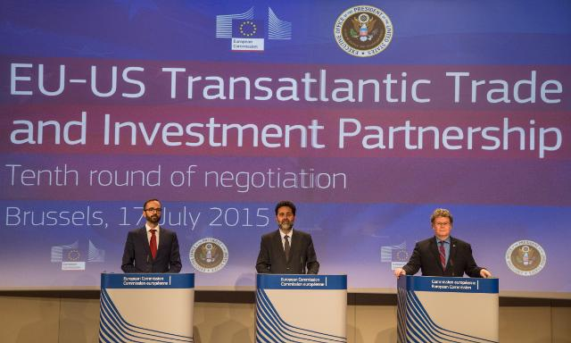 Tenth round of EU/United States negotiations on Trade and Investment, Brussels, 13-17/07/2015