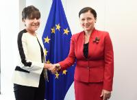 Visit of Penny Pritzker, United States Secretary of Commerce, to the EC