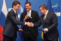 Participation of Maroš Šefčovič, Vice-President of the EC, in EU/Russia/Ukraine trilateral gas talks