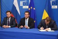 Participation de Maroš Šefčovič, vice-président de la CE, aux négociations trilatérales UE/Russie/Ukraine