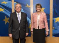 Visit of Anne Brasseur, President of the Parliamentary Assembly of the Council of Europe, to the EC