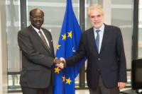 Visit of Barnaba Marial Benjamin, South Sudanese Minister for Foreign Affairs and International Cooperation, to the EC