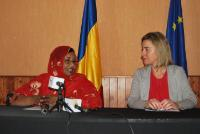 Visit of Federica Mogherini, Vice-President of the EC, to Chad