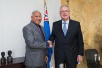 Visite de Josaia Voreqe Bainimarama, Premier ministre fidjien, à la CE