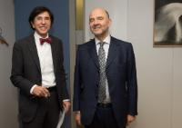 Visit of Elio Di Rupo, President of the Belgian Socialist Party and Mayor of Mons, to the EC