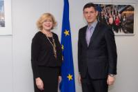 Visit of Costin Borc, Romanian Deputy Prime Minister and Minister for Economy, Trade and Business Environment, to the EC