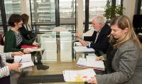 Visit of Monique Goyens, Director General of the BEUC, to the EC