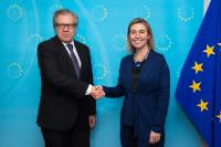 Visit of Luis Almagro Lemes, Secretary General of the Organisation of American States, to the EC