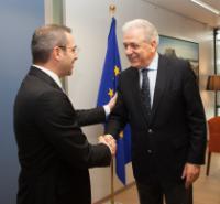 Visit of Saimir Tahiri, Albanian Minister for the Interior, to the EC