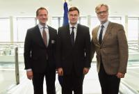 Visit of Eric Schweitzer, President of the DIHK, to the EC
