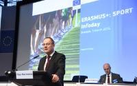 Discours de Tibor Navracsics, membre de la CE, à l'occasion de la Journée d'information du sport