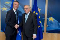 Visit of Jens Stoltenberg, Secretary General of NATO, to the EC