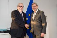 Visit of Pedro Agramunt, President of the Parliamentary Assembly of the Council of Europe, to the EC