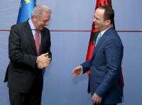 Visit of Dimitris Avramopoulos, Member of the EC, to Albania