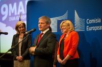 Visit of Corina Cretu, Member of the EC, to Romania