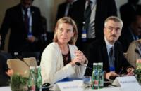 Visite de Federica Mogherini, vice-présidente de la CE, en Autriche