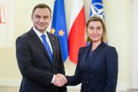 Visit of Federica Mogherini, Vice-President of the EC, to Poland