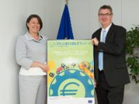 Visit of Bernhard Ensink, Secretary General of the European Cyclists' Federation (ECF), to the EC