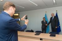 Visit of Li Yong, Director General of UNIDO, to the EC