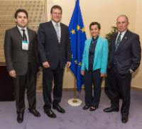 Visit of Michael Bloomberg, CEO of Bloomberg L.P. and UN Special Envoy for Cities and Climate Change, and Christiana Figueres, Executive Secretary of the United Nations Framework Convention on Climate Change, to the EC